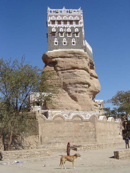 Yemen, Wadi Dhar, il Palazzo sulla roccia