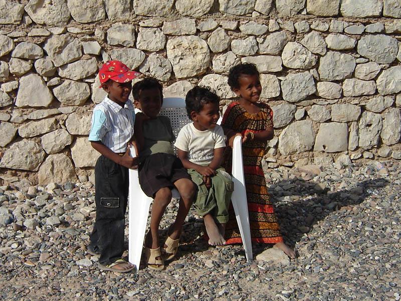 Bambini a Socotra