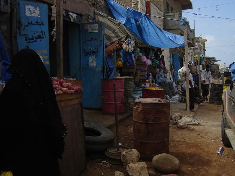 Socotra, Hadibo, botteghe