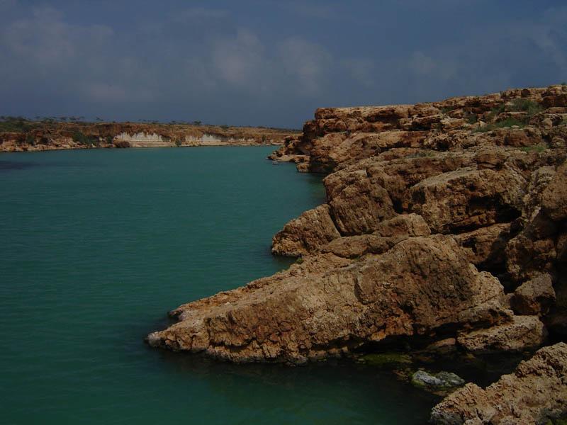 Socotra, lago costiero