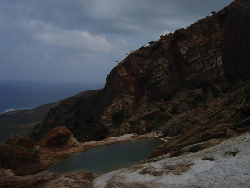 Socotra, la piscina di Homhil