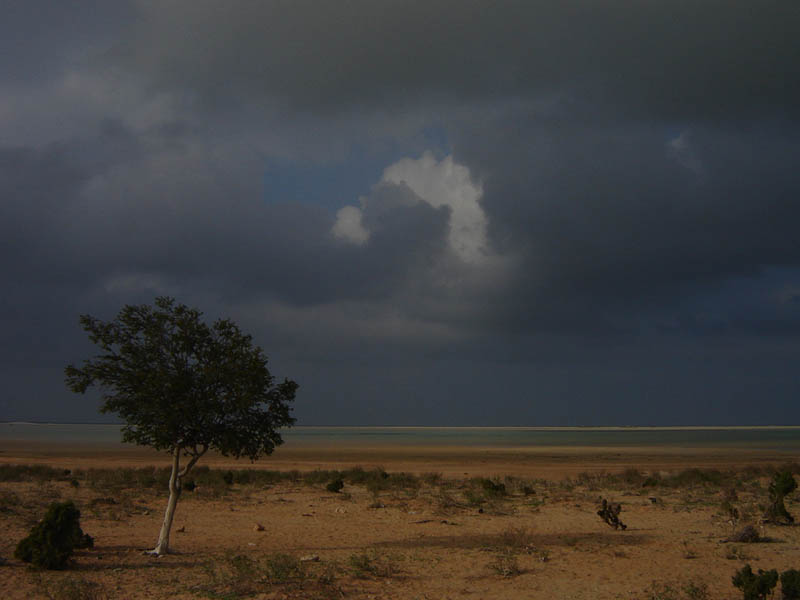 Stormy weather su Socotra