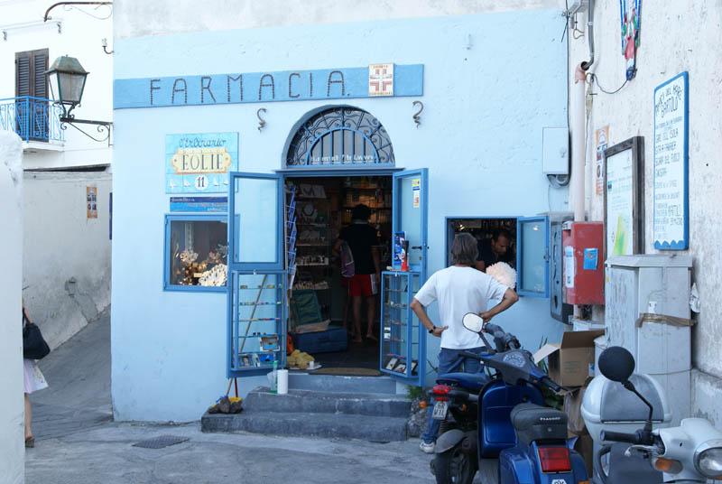 Stromboli, la Farmacia