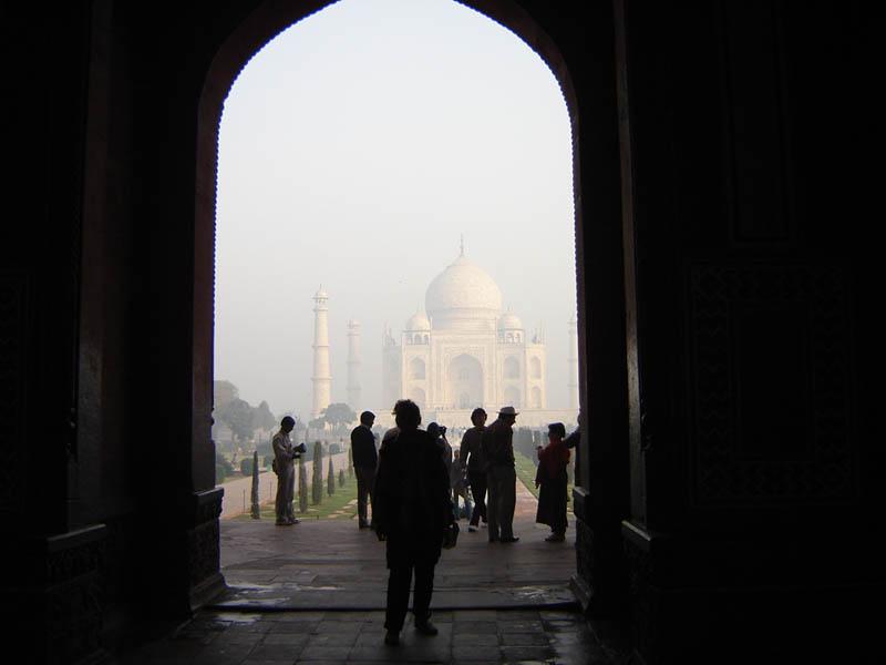 Il Taj Mahal.