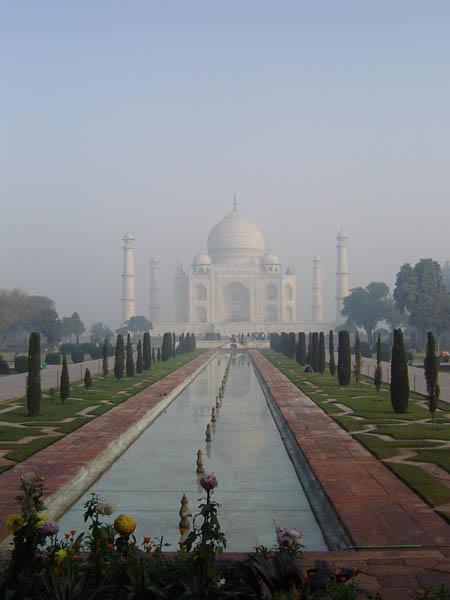 Taj Mahal, il Mausoleo.