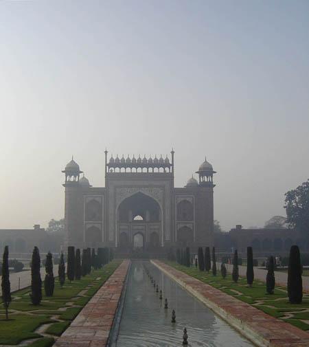 Taj Mahal, il Portale.