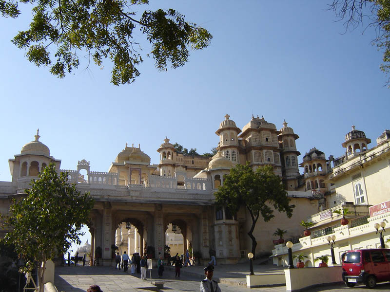 City Palace di Udaipur.