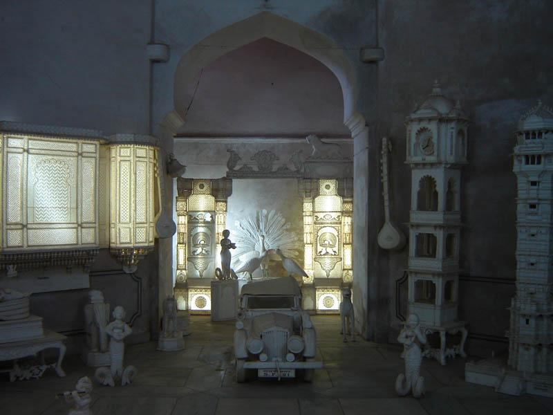 Udaipur, City Palace Museo - Stanza dei Giochi.