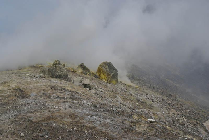 Vulcano, fumarole