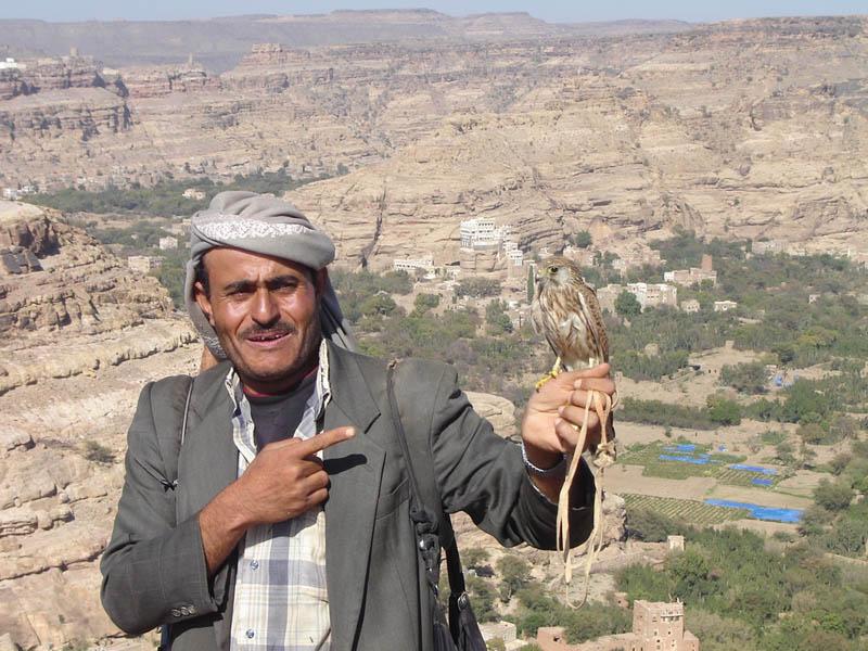 Yemen, il Falconiere