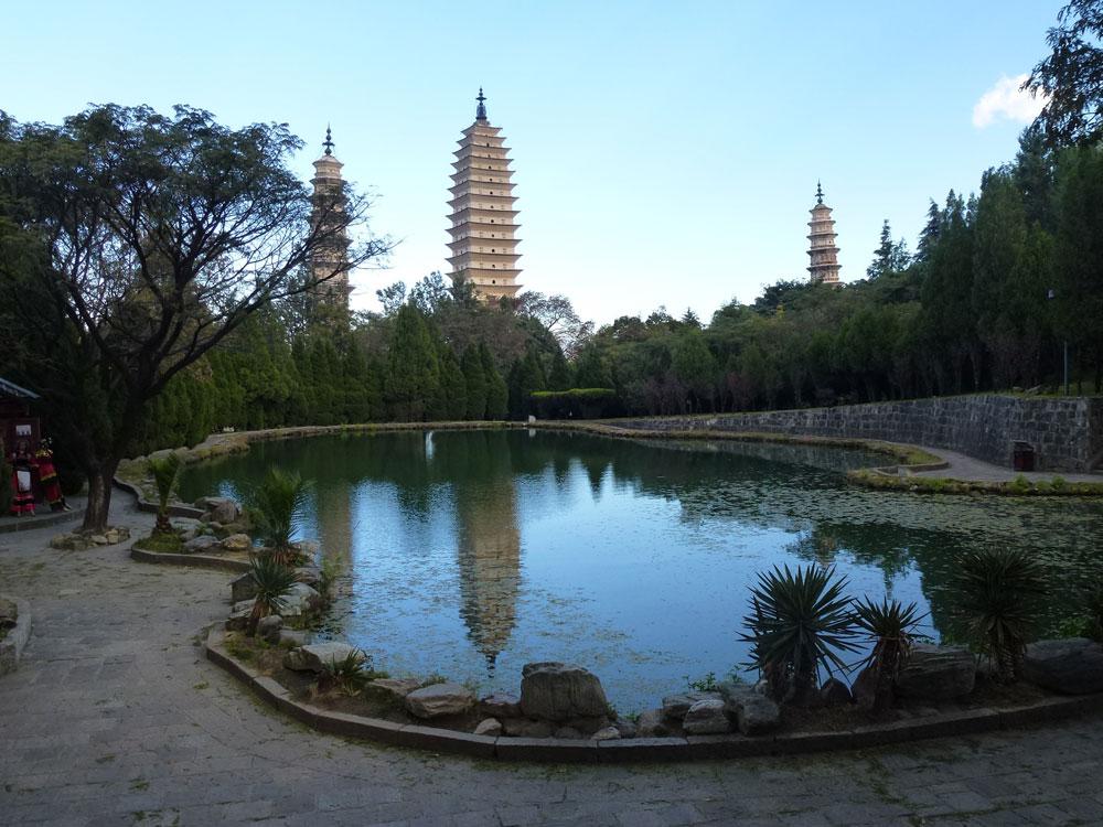 Yunnan, Dali le 3 pagode