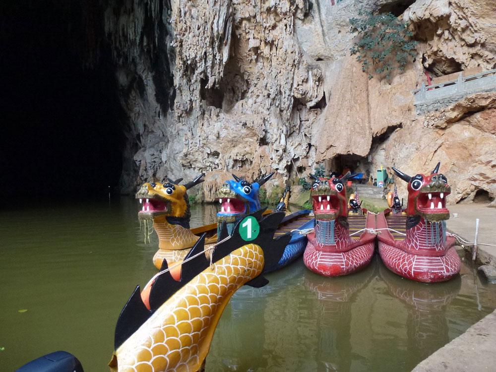 Yunnan, barche Drago