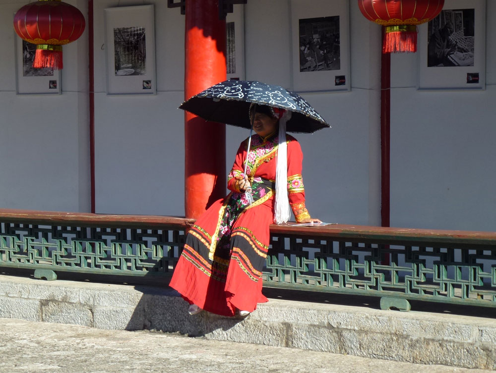 Yunnan, donna Baisha
