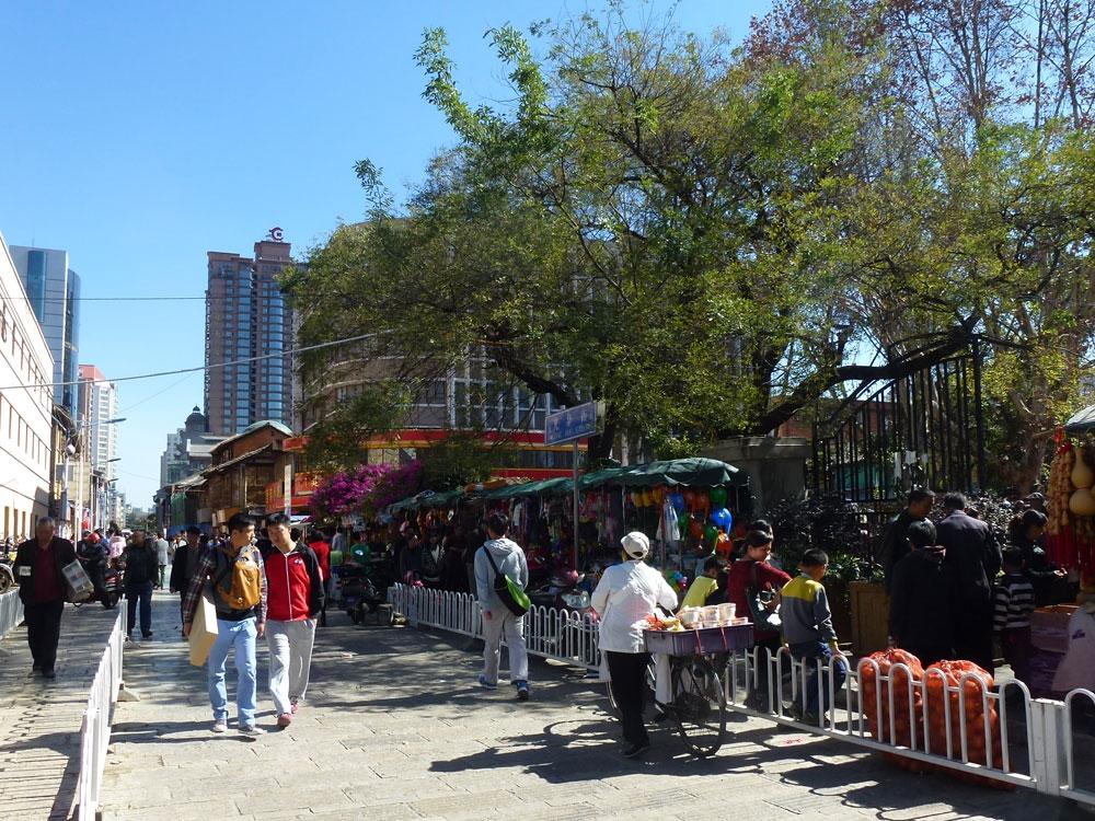 Yunnan, Kunming mercato all'aperto