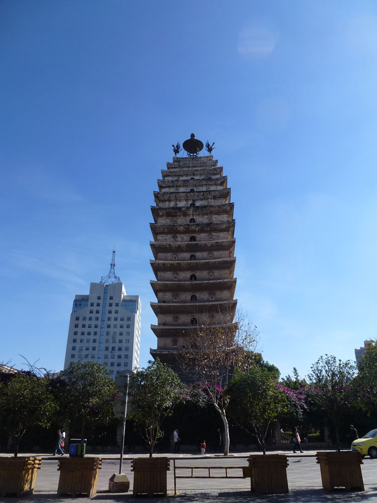 Yunnan, Kunming Pagoda Occidentale