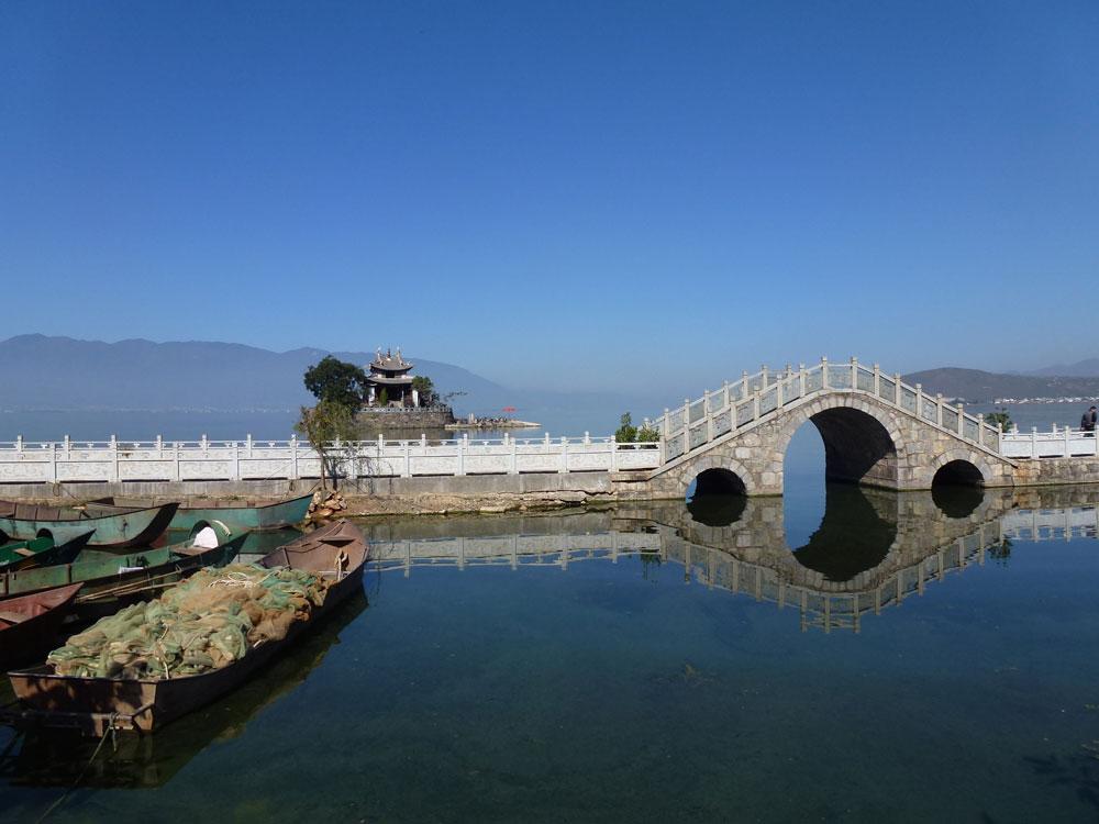 Yunnan, lago Erhai