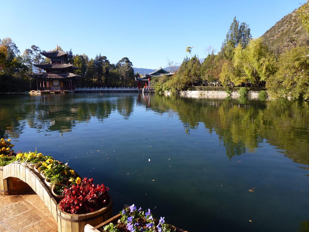 Yunnan, Lago del Parco del Drago Nero