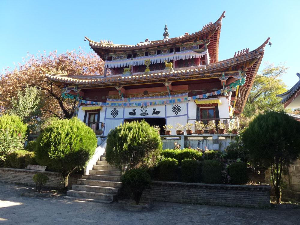 Yunnan, tempio di Liwubi