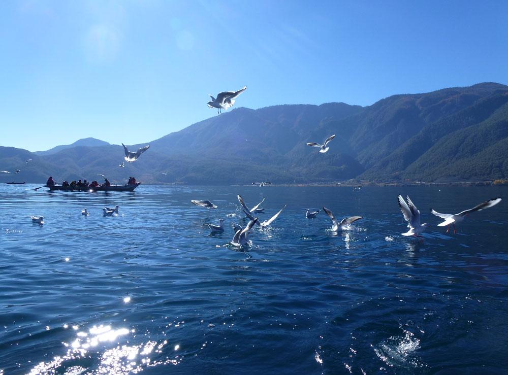 Yunnan, lago Lugu Hu