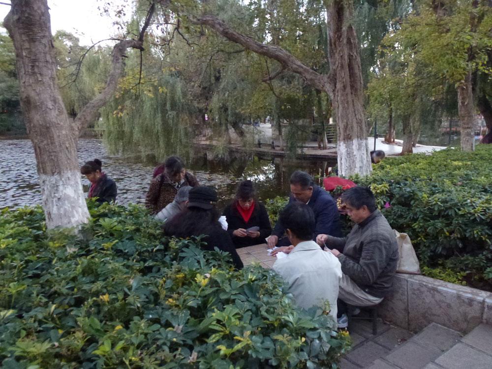Yunnan, Kunming parco del Lago Verde