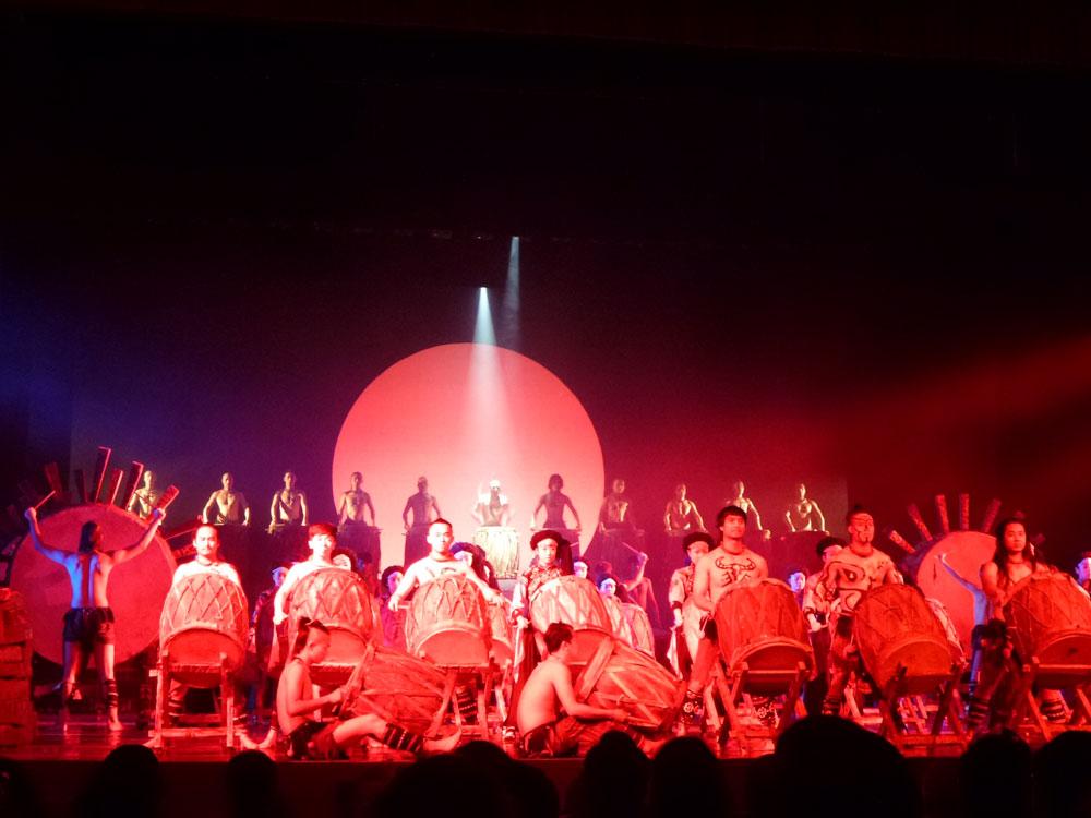 Yunnan, tamburi teatro Kunming
