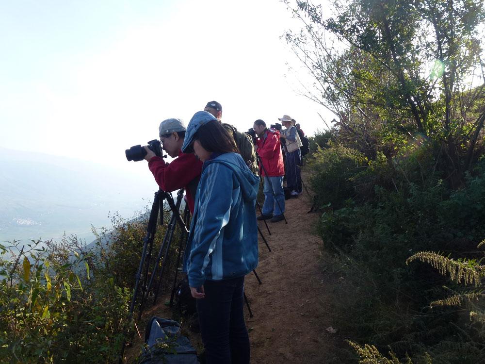 Yunnan, turisti fotografi
